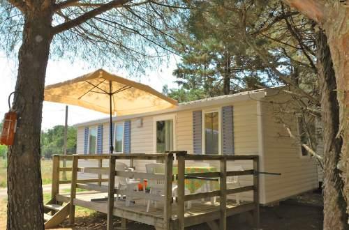 Verhuur van Mobil Home Camping Domaine de Gaujac