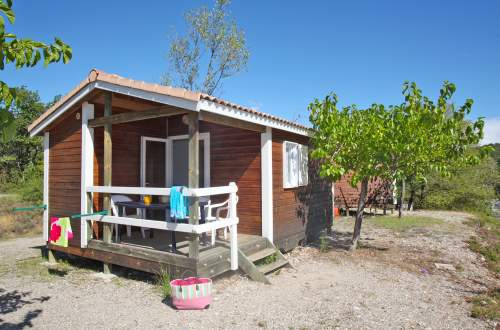 Chalet colline Agapanthe Camping Domaine de Gaujac