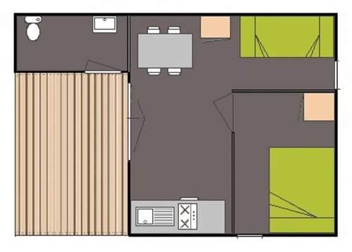 plan bungalow Marguerite
