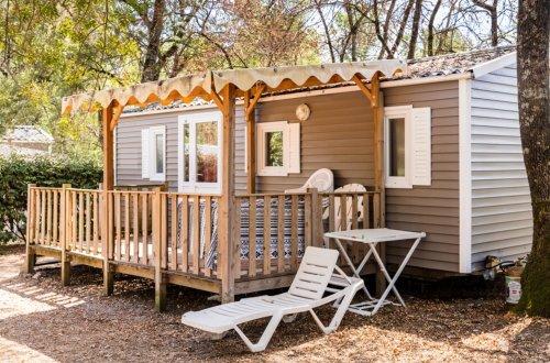 Stacaravan Orchid Met airconditioning 2 slaapkamers Camping Domaine de gaujac