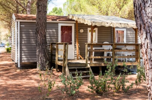 Mobil Home Hortensia 2 slaapkamers Camping Domaine de gaujac