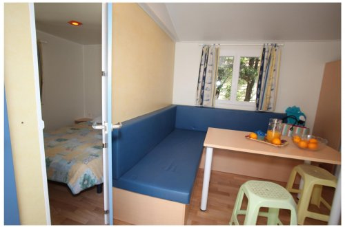 Mobil Home Hortensia 2 chambres Camping Domaine de gaujac