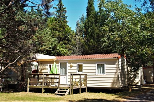Stacaravan Crocus 2 slaapkamers Camping Domaine de gaujac