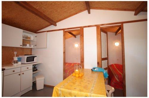 Chalet Bleuet Camping Domaine de Gaujac