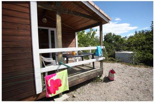 Chalet colline Agapanthe Camping Domaine de Gaujac