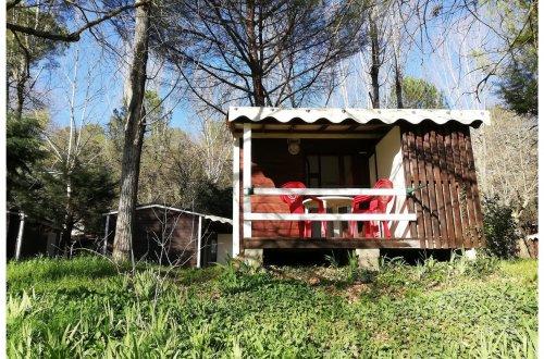 Bungalow 4p MARGUERITE Camping Domaine de Gaujac