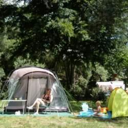 Camping Domaine de Gaujac tentplaats