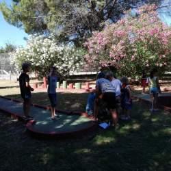 Minigolf Gratis camping Domaine de Gaujac