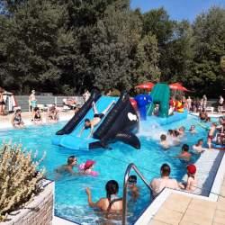 Activiteiten Games Zwembad Camping Domaine de Gaujac