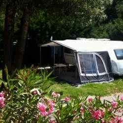 Standplaats Caravan Camping Domaine de Gaujac