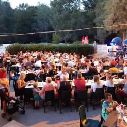 Avond Thema-maaltijd Camping Domaine de Gaujac