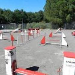 Field Agility Dog Training Campsite Domaine de Gaujac