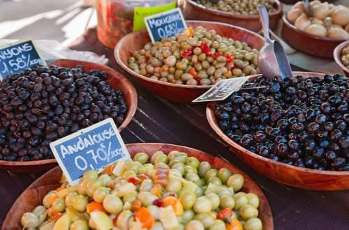 Olive de provence gard